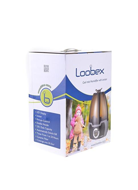 Loobex Loobex Dijital Uzaktan Kumandalı Buhar Makinesi - Nemlendirici Renkli